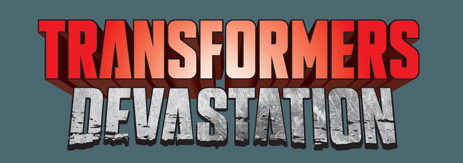Transformers Devastation Logo.png - Transformers Logo PNG