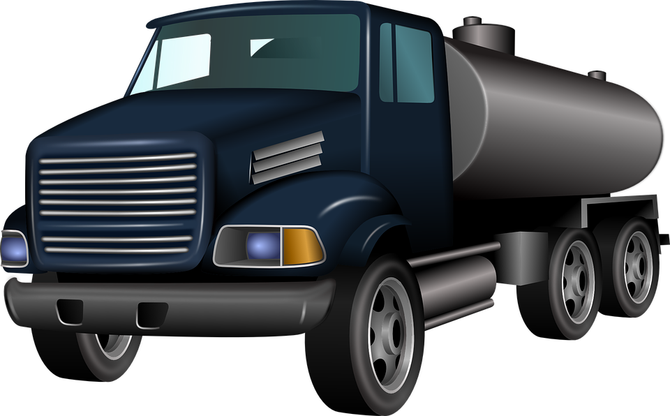 Truck Transportation Vehicle Gasoline Dies - Transportation PNG HD