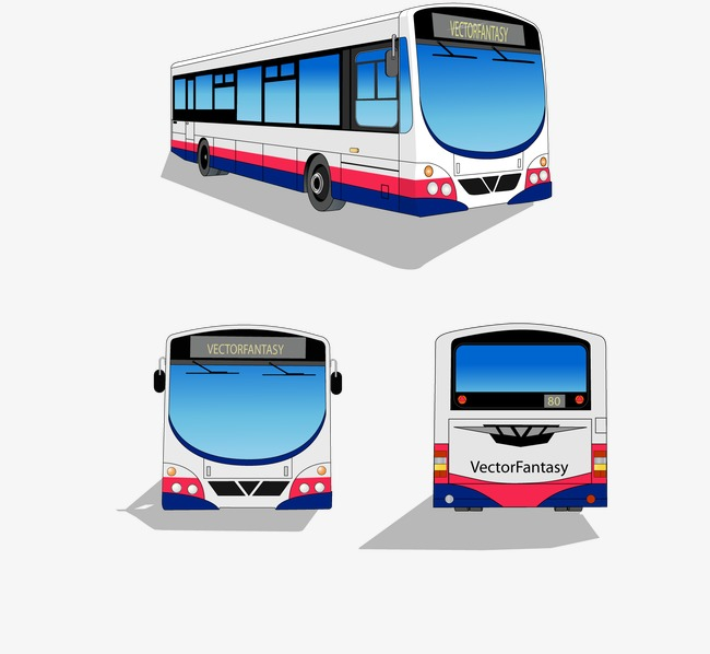 Vector bus, HD, Vector, Transportation Free PNG and Vector - Transportation PNG HD
