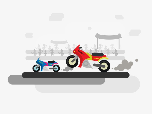 Vector motorcycle, HD, Vector