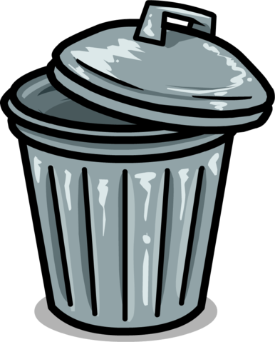 Trash Can PNG - 10448