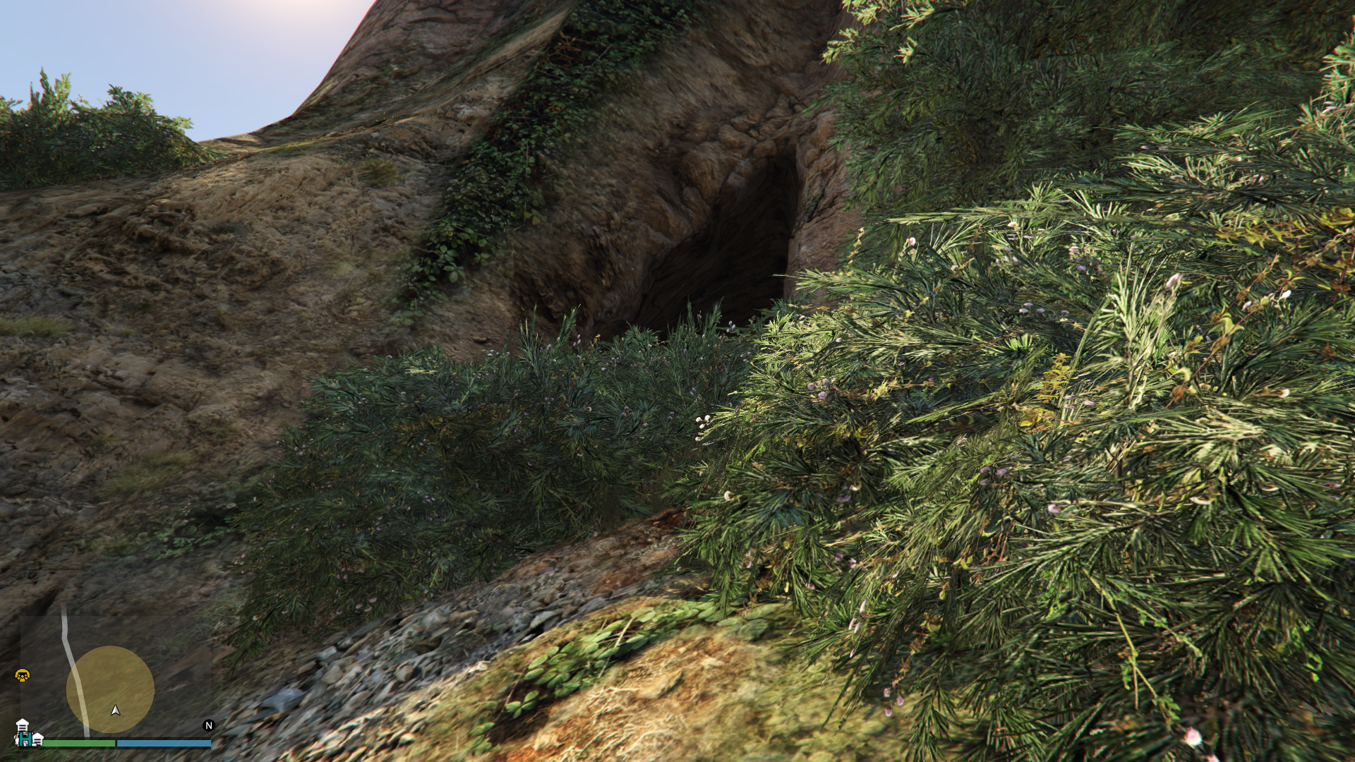 Treasure Hunt-GTAO-Cave Clue Location.png - Treasure Hunt PNG HD