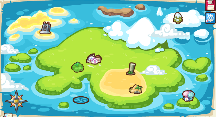 Treasure hunt map 0111.png - Treasure Hunt PNG HD
