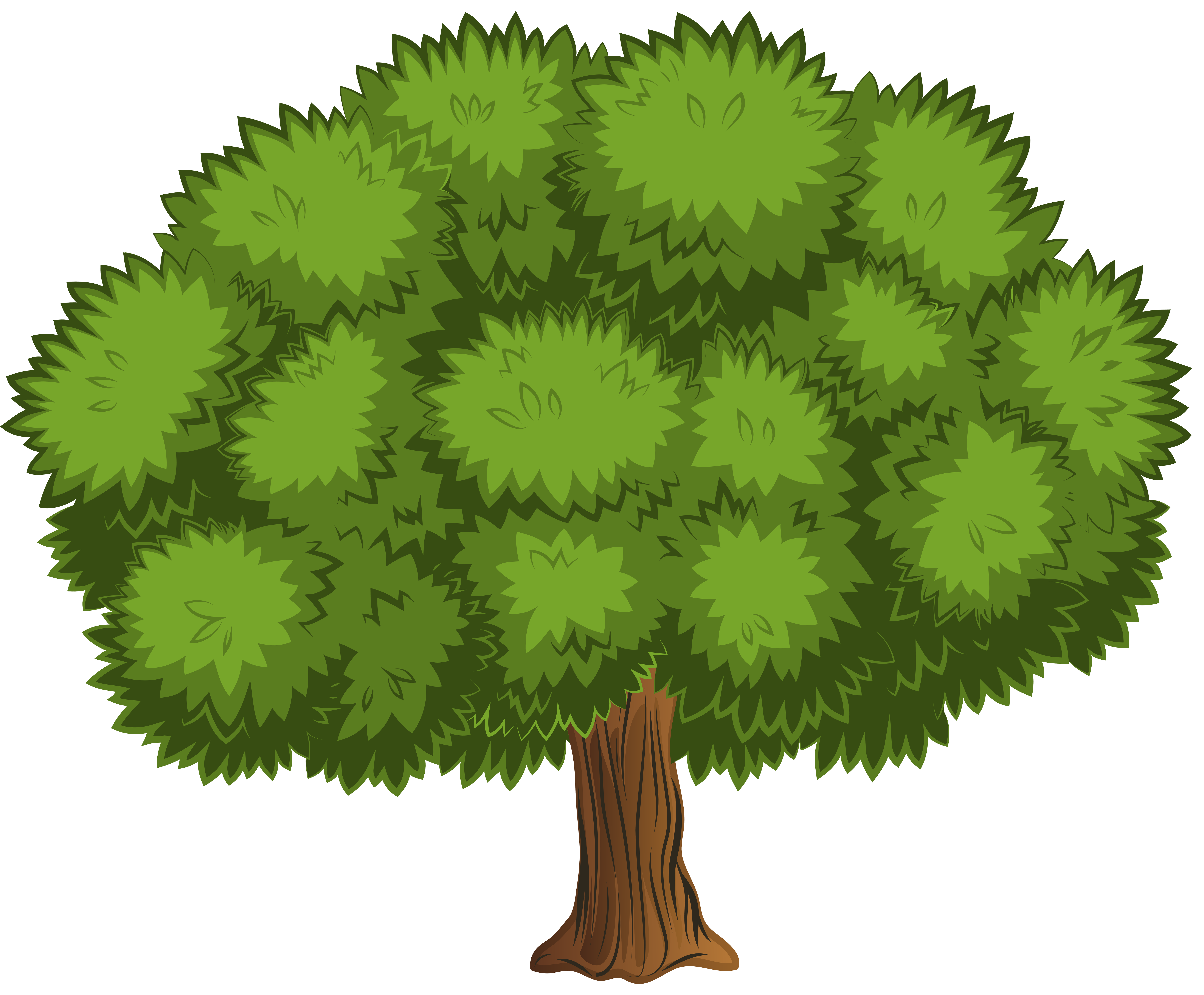 Clip Arts Related To : Large Tree PNG Clip Art Image - Tree Clipart PNG