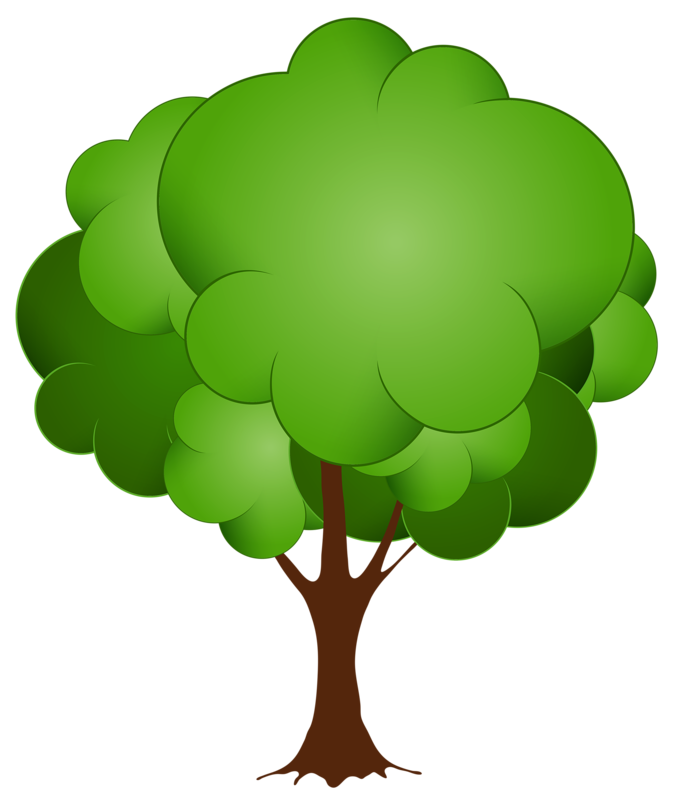 Green Tree PNG Clip Art in category Trees PNG / Clipart - Transparent PNG  pictures and vector rasterized Clip art images. - Tree Clipart PNG