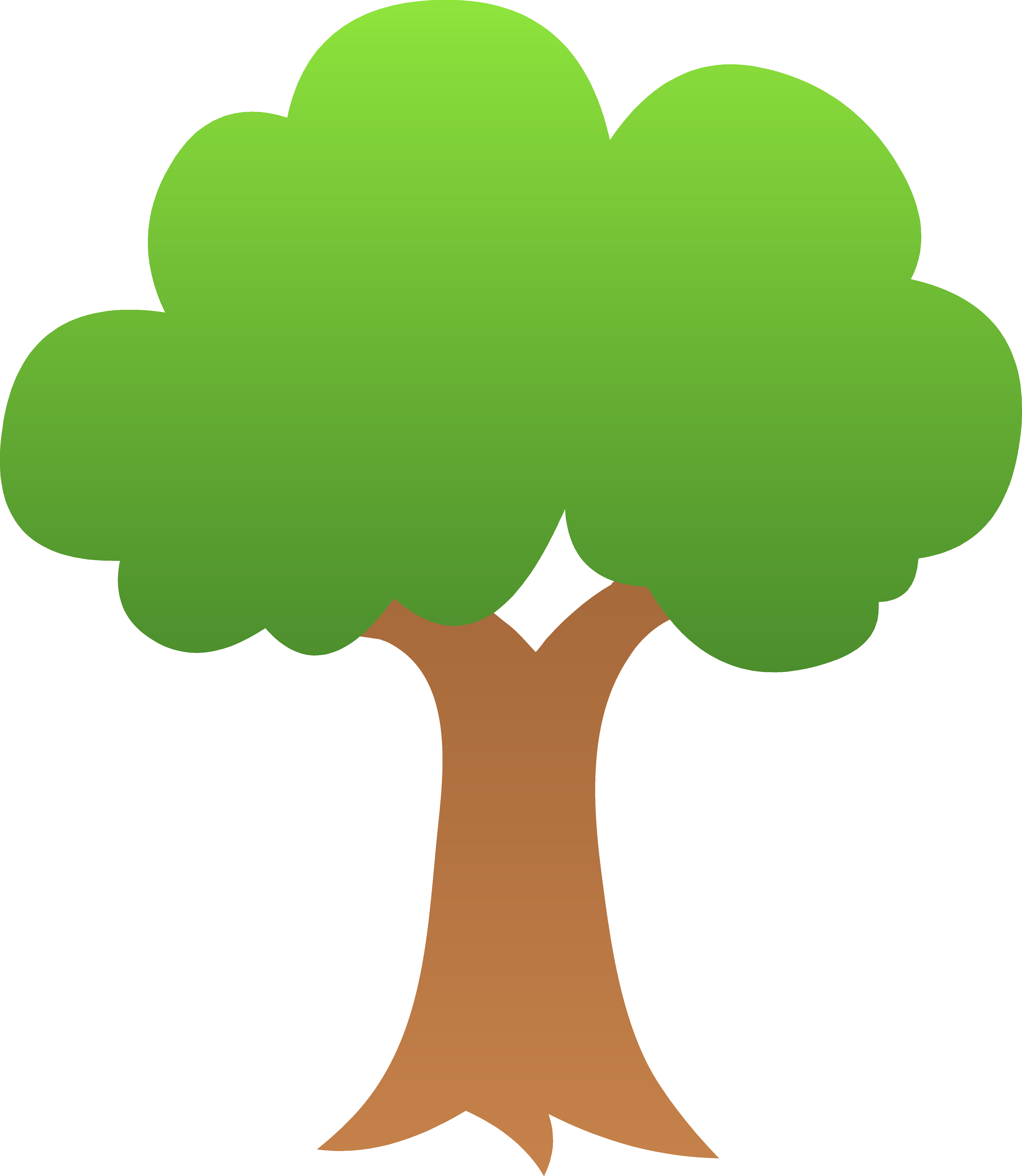 Tree Clip Art 1 - Tree Clipart PNG