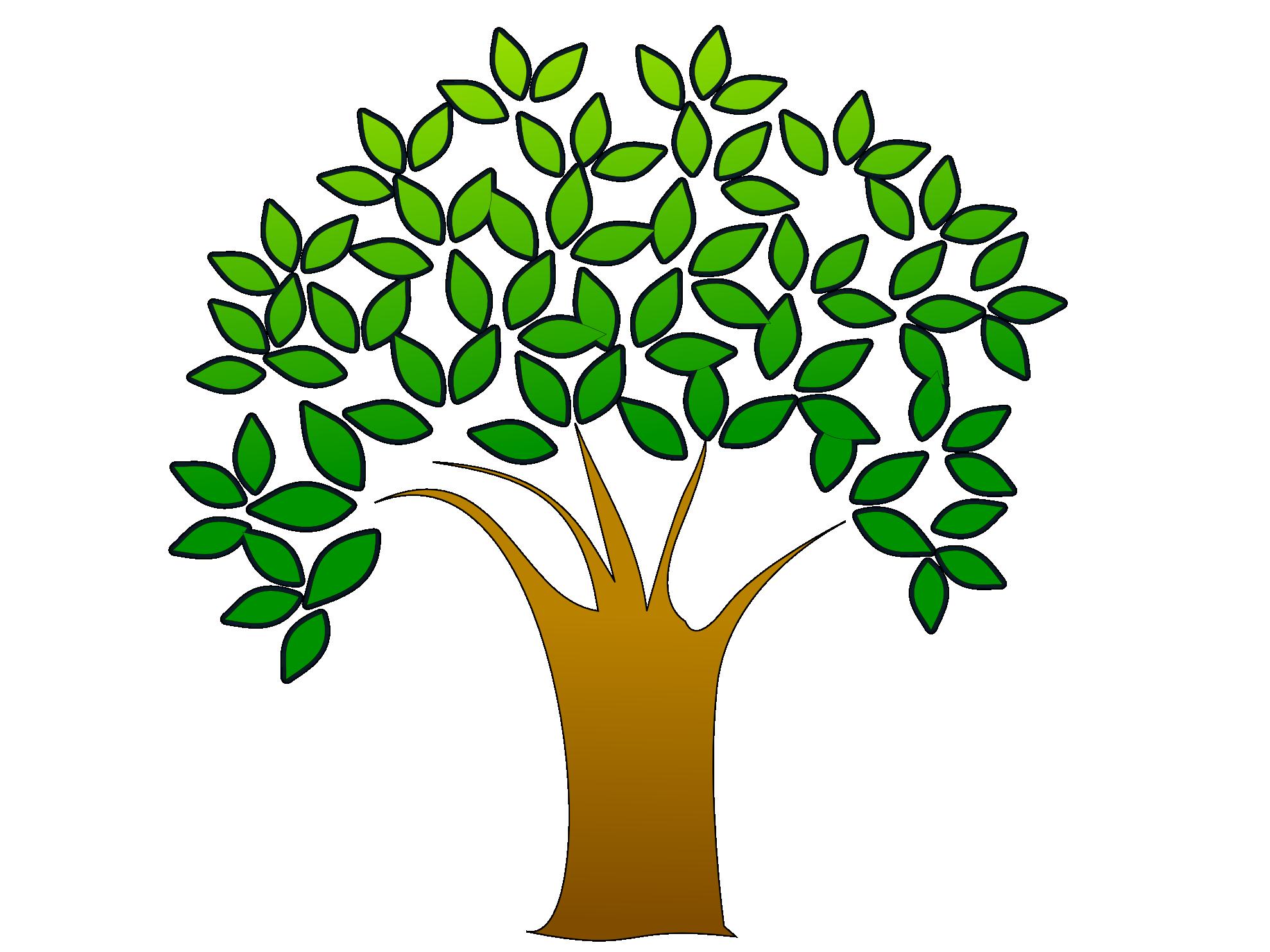 Tree Clip Art 3 - Tree Clipart PNG