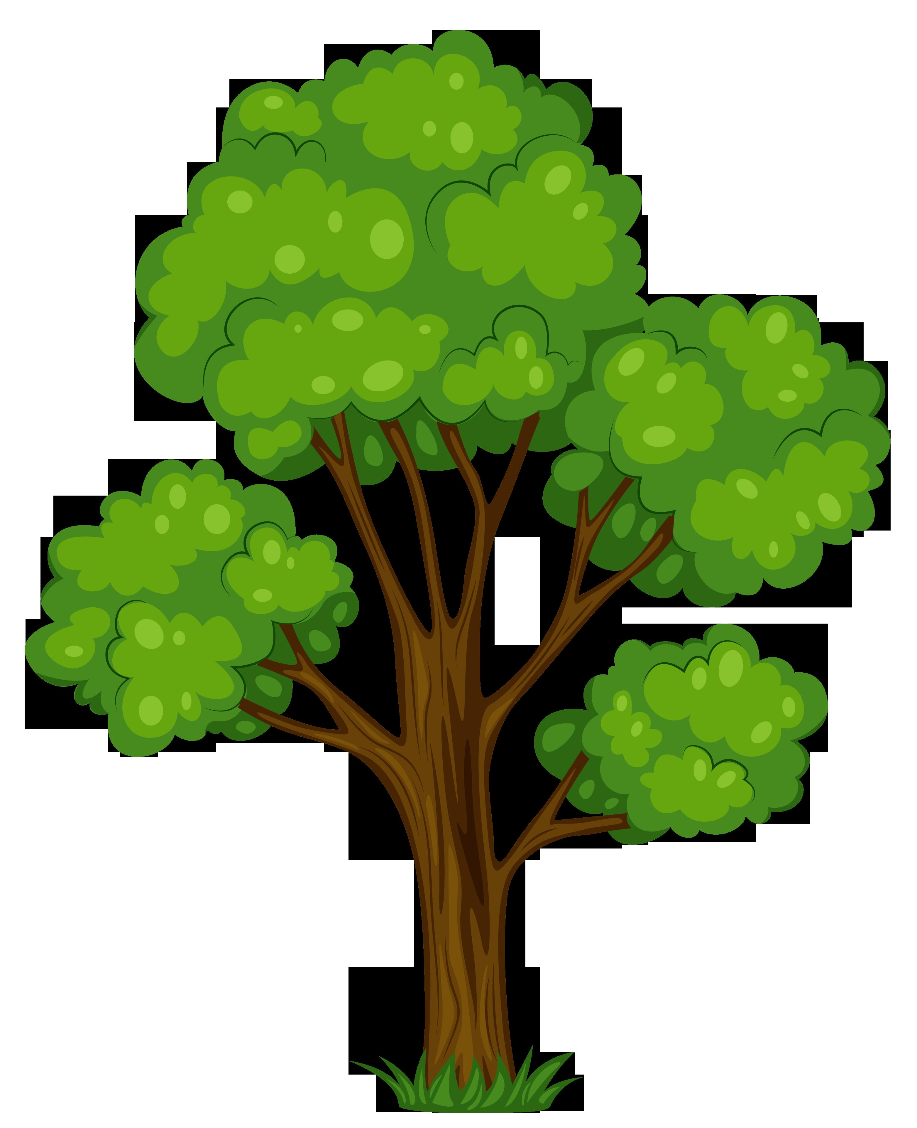 Tree Clip Art 7 - Tree Clipart PNG