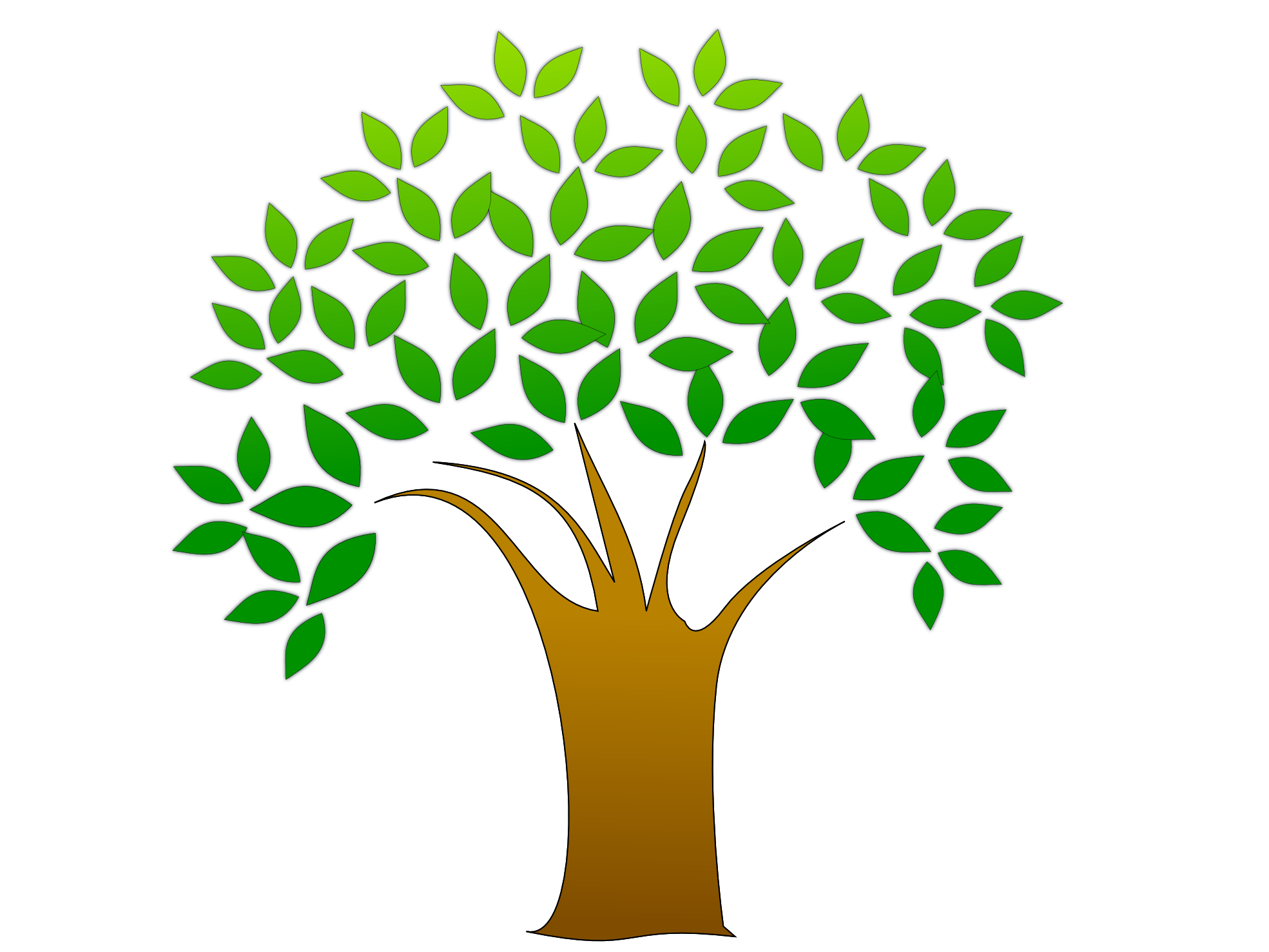 Tree Vector Image - Tree PNG Vector