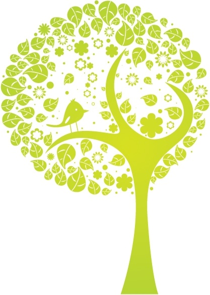 Vector abstract tree - Tree PNG Vector