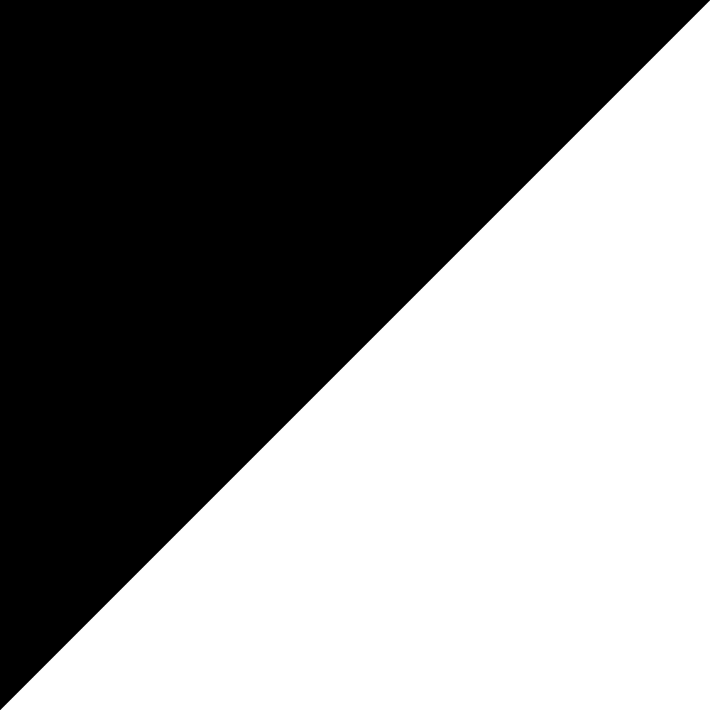 File:Black right angled triangle 3.png - Triangle PNG