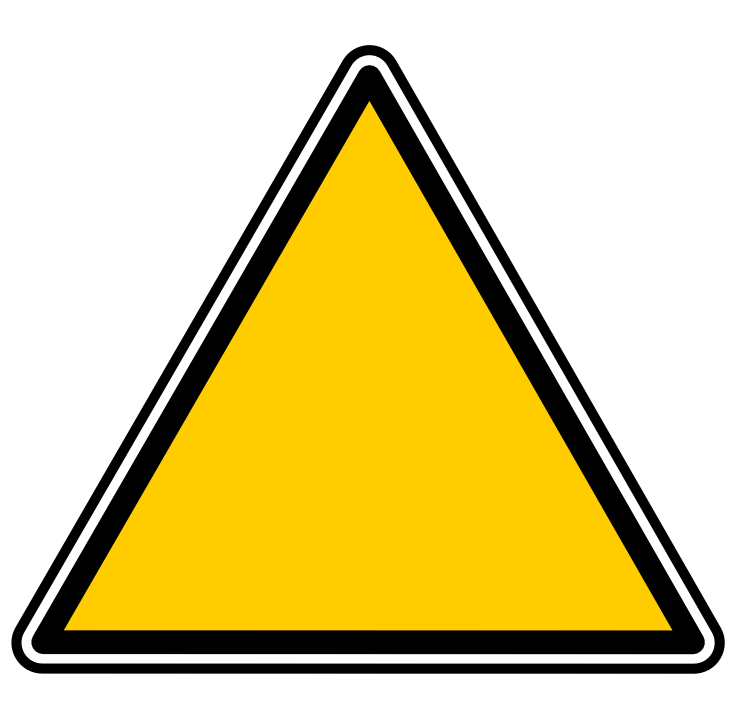 triangle yves guillou 01 -  /signs_symbol/monochrome_symbols/yellow/triangle_yves_guillou_01.png.html - Triangle PNG