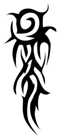 Tribal Tattoos PNG - 6803