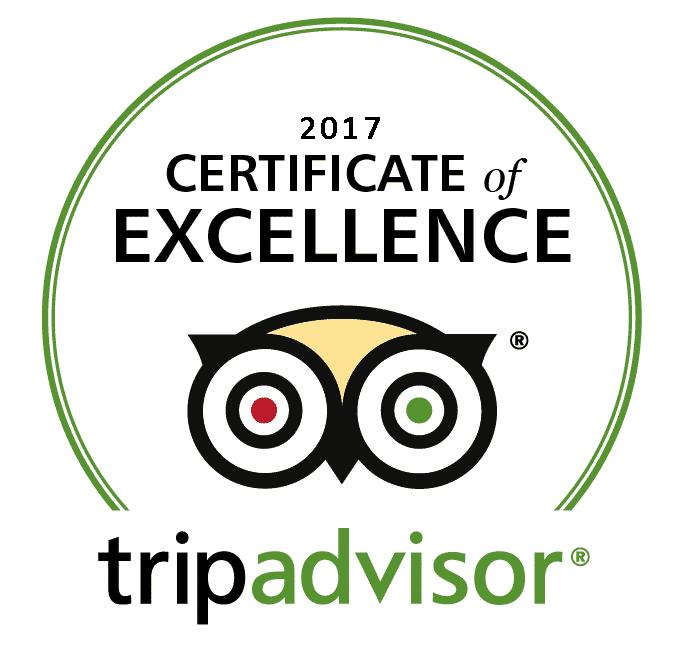 Tripadvisor u2013 Certificate of Excellence 2017 - Tripadvisor PNG