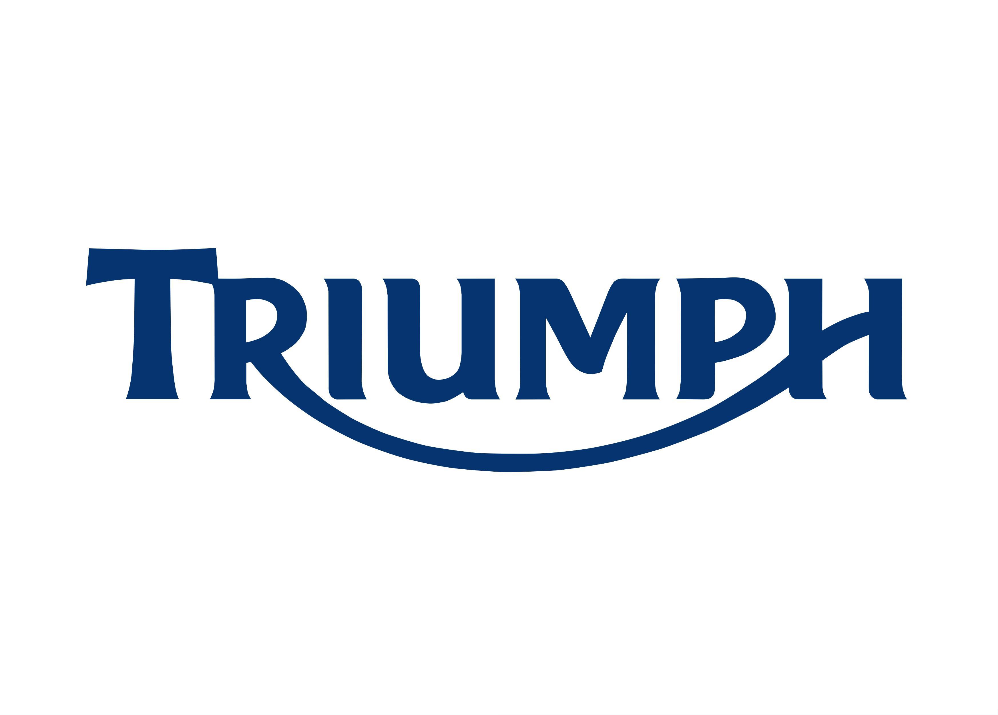Triumph logo image in png format. Size: 1024 x 286 pixels. - Triumph Logo Vector PNG