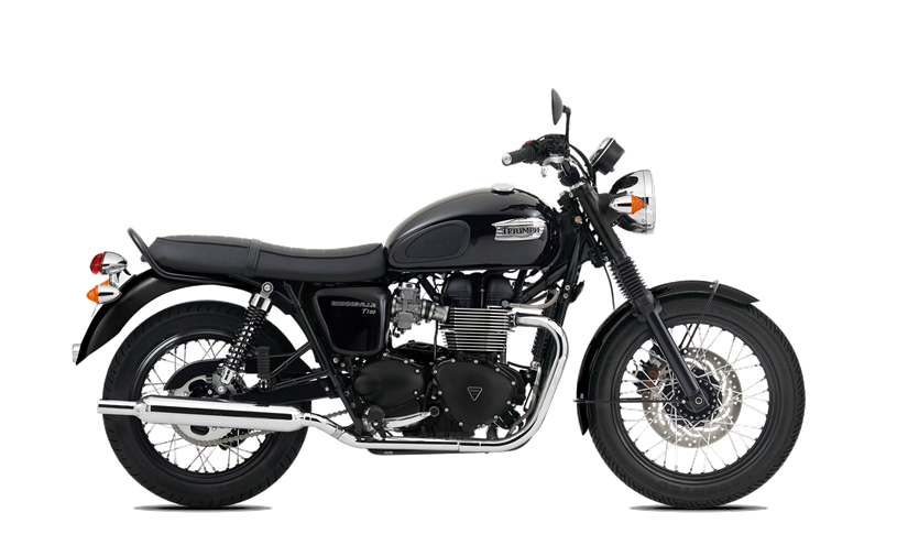 Starting from i Jet Black - Triumph Motorcycles PNG
