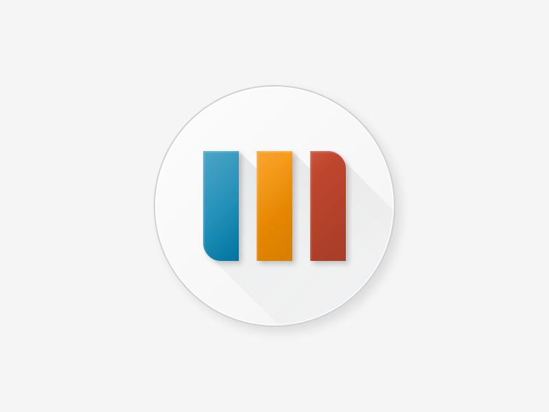 Material Design Icon Trivago