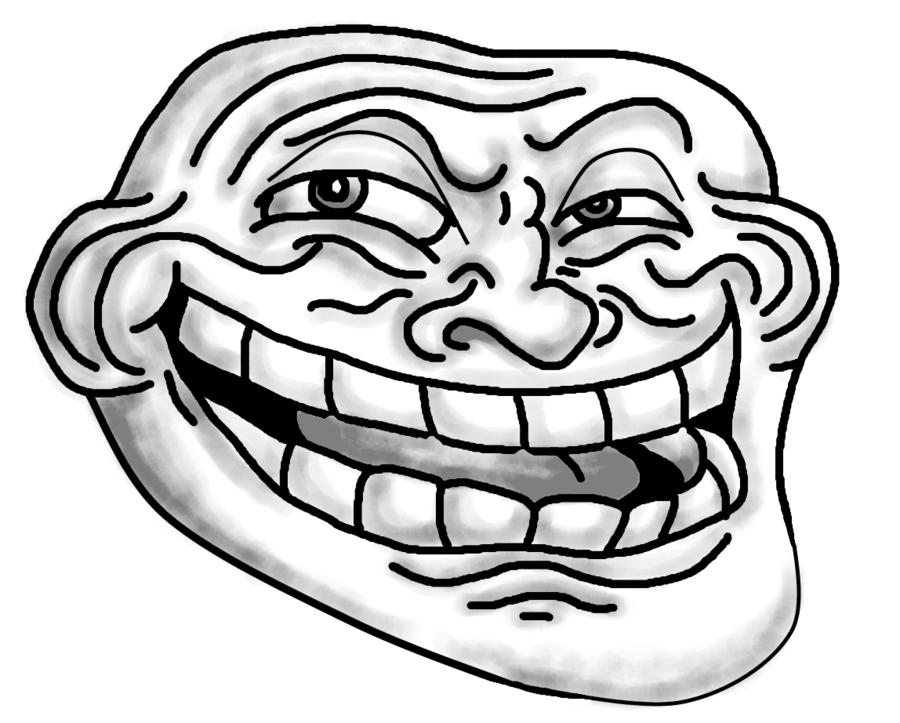 Trollface PNG - 17923