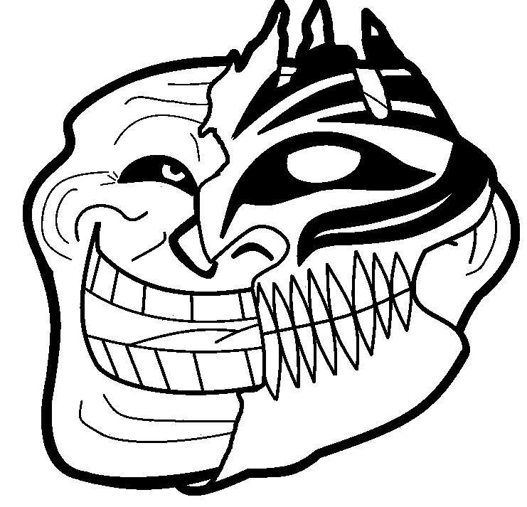 Trollface PNG - 17928