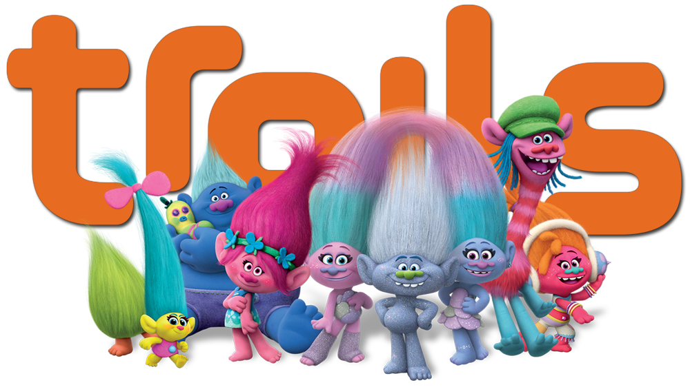 HD ClearART - Trolls PNG HD