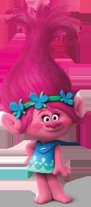 Poppy trolls.png - Trolls PNG HD