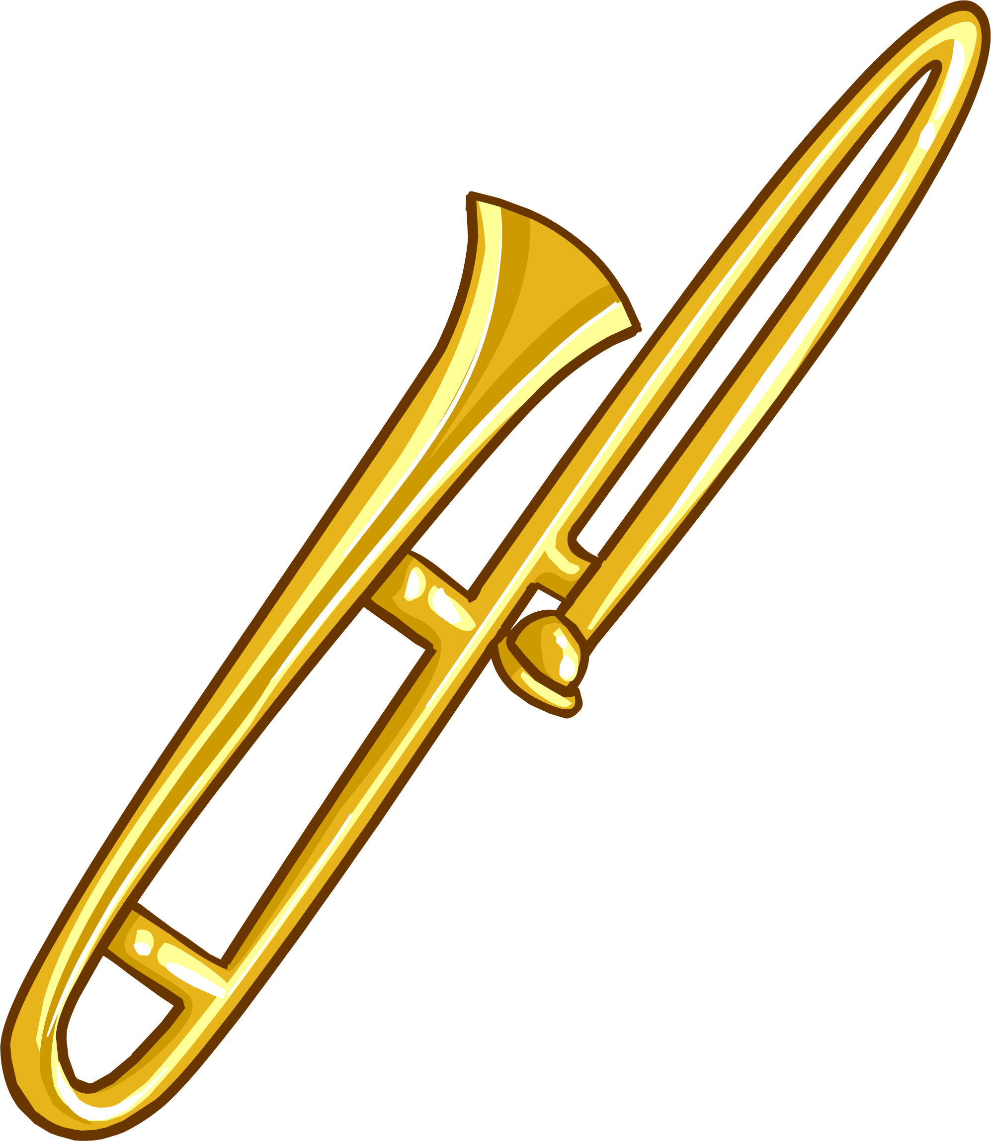 Trombone clothing icon ID 5034.png - Trombone PNG
