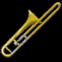 Trombone PNG - 17649