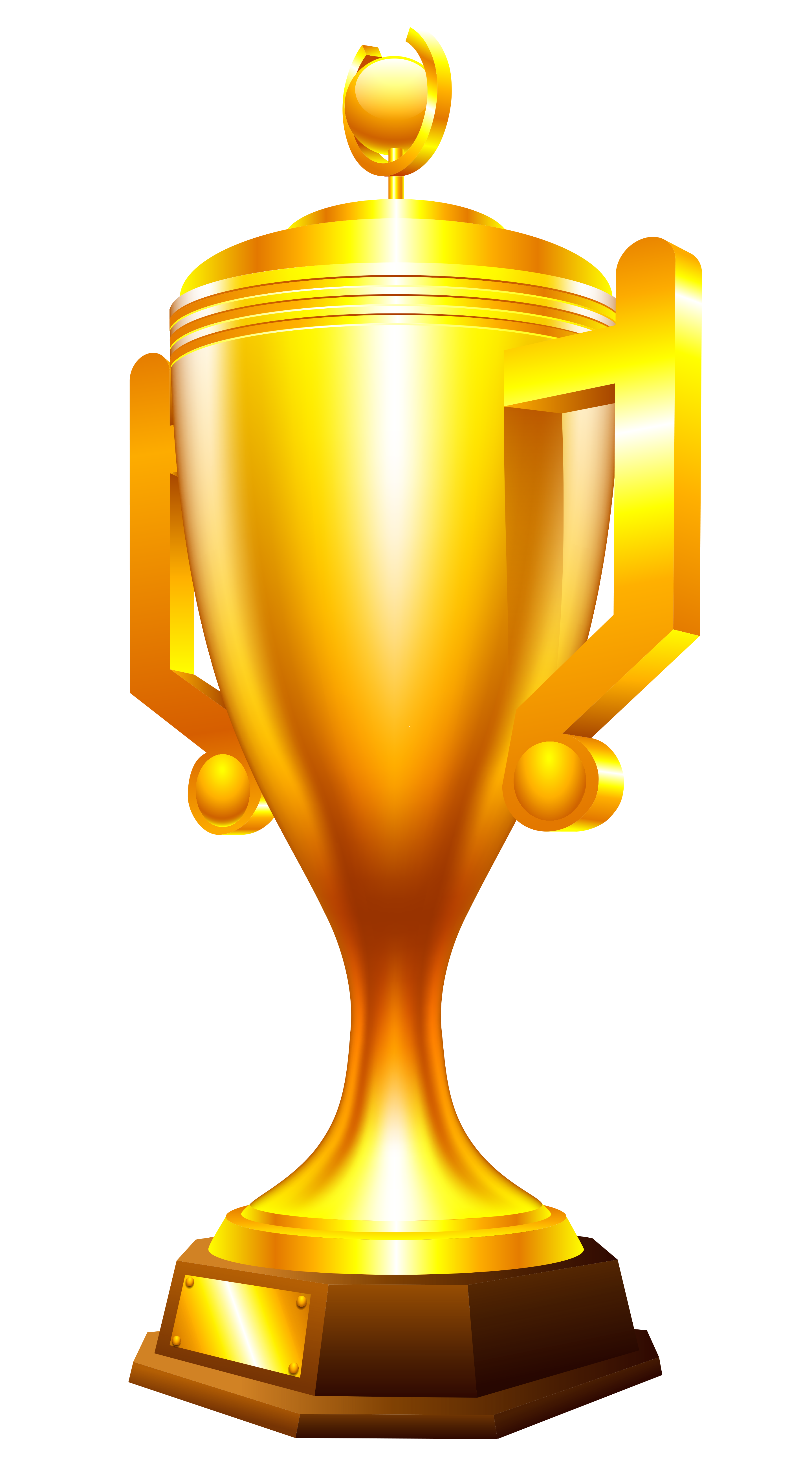 Golden cup PNG - Trophy HD PNG
