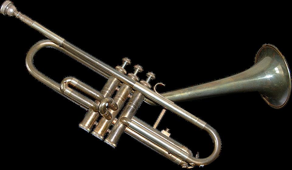 Trumpet, Musical Instrument, Wind Instrument - Trumpet HD PNG