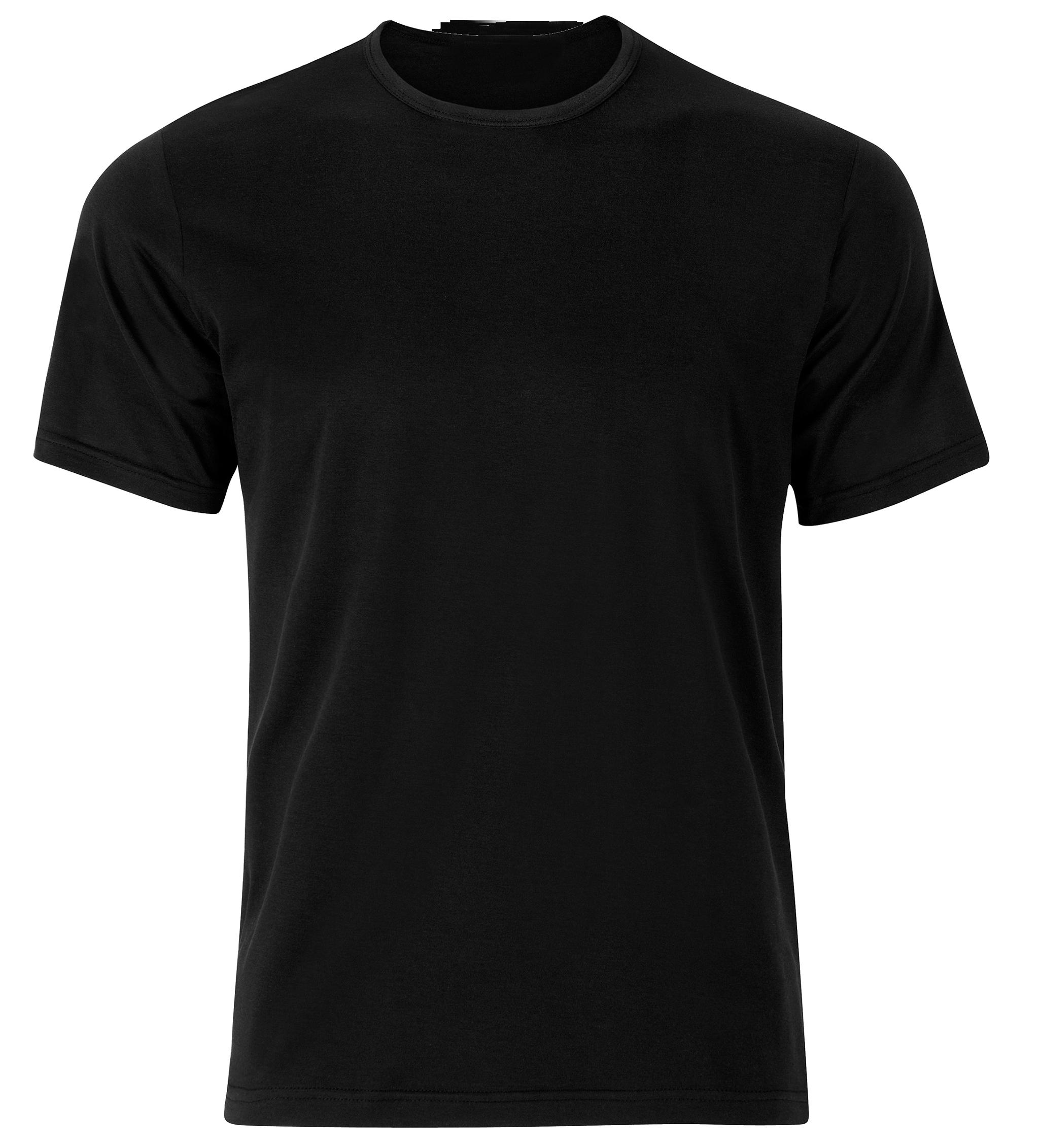 Black T Shirt PNG Transparent