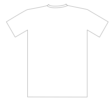 Tshirt PNG Outline - 81582