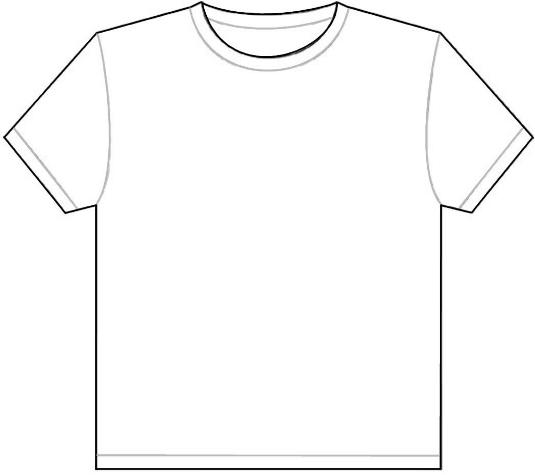 Download - Tshirt PNG Outline