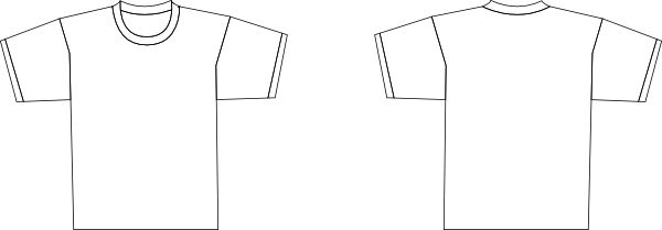 Download this image as: - Tshirt PNG Outline