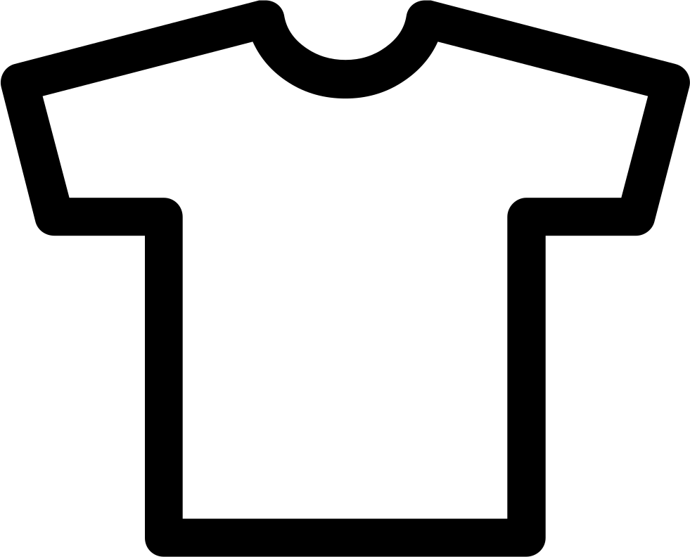 Tshirt PNG Outline - 81592