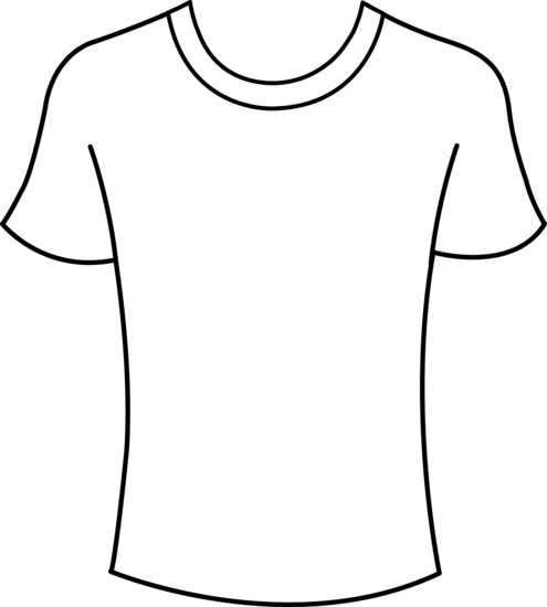 Tshirt PNG Outline - 81585