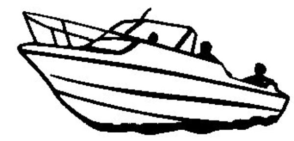 pin Boat clipart black and white #5 - Tugboat PNG Black And White