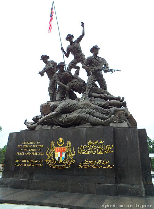 Tugu Peringatan Negara / National Monument - Tugu Negara PNG