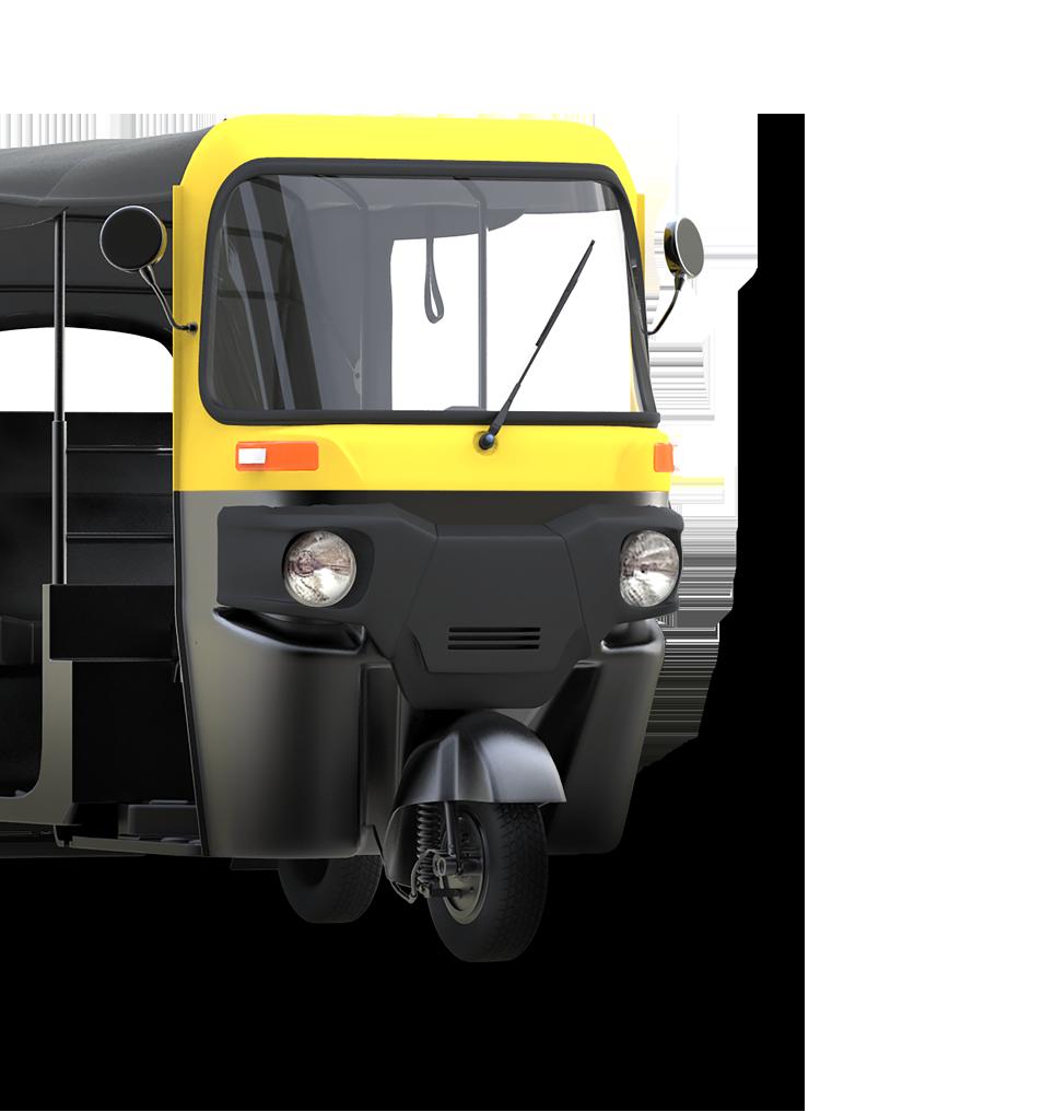 Bajaj RE 4S Compact - Tuk Tuk PNG