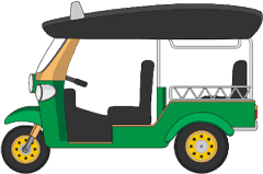 TUK TUK Buy Ticket - Tuk Tuk PNG