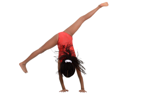 girl doing cartwheel - Tumbling PNG HD