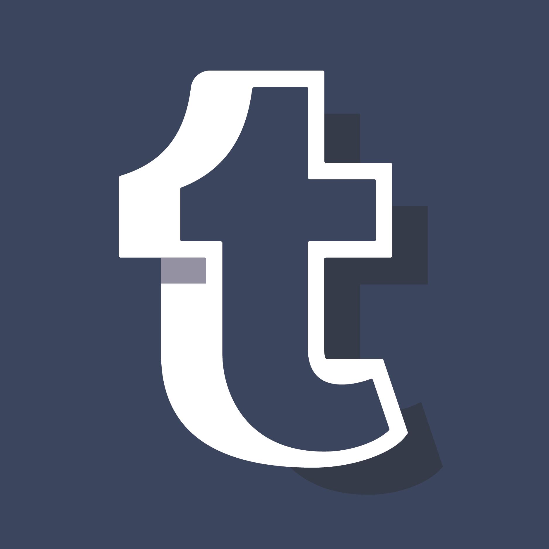 tumblr_logo_2 - Tumblr Vector PNG