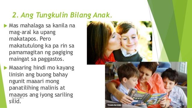 Makabuluhang Paggamit ng mga Hilig. lbestrada2015; 16. 2. Ang Tungkulin  Bilang Anak. - Tungkulin Bilang Anak PNG