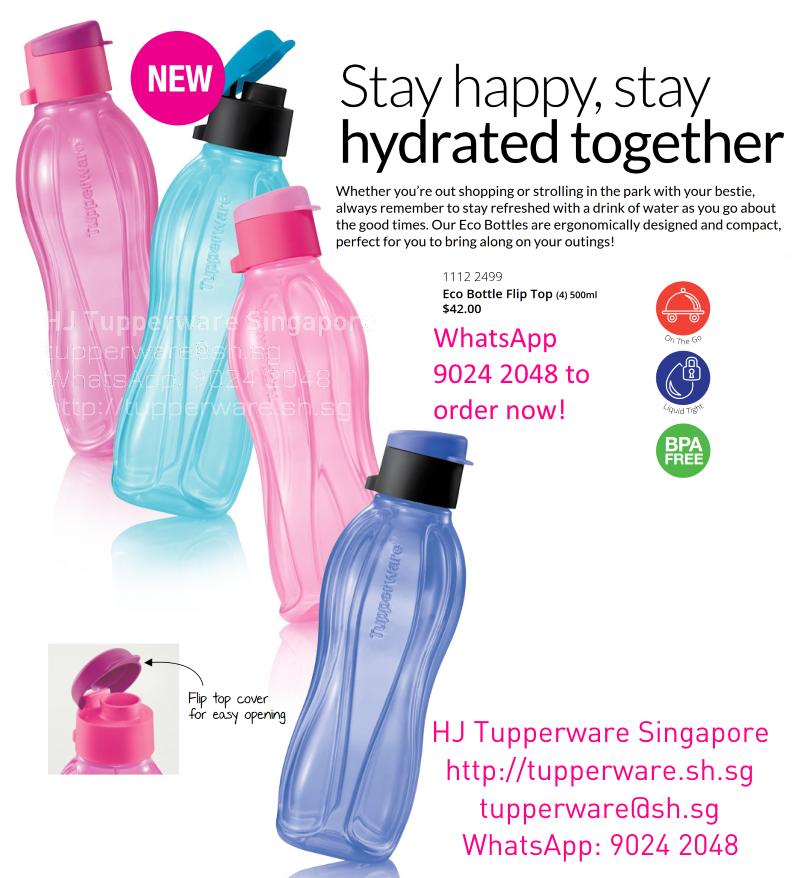 Tupperware Eco Bottle 500ml F