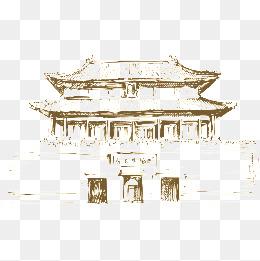 Der turm - Linie im alten china., China, Der Antike, Die Türme - Turm Bauen PNG