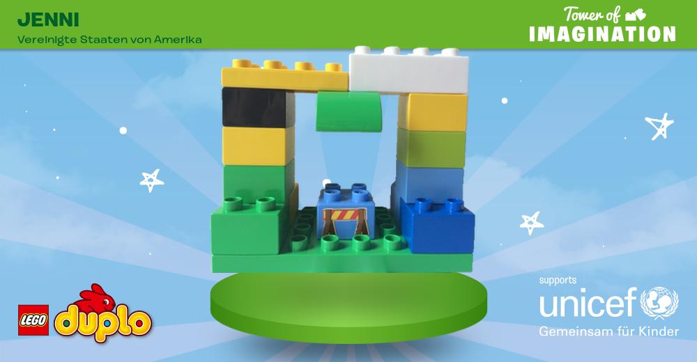 Wir haben mitgeholfen, den fantasievollsten LEGO® DUPLO® Turm der Welt für  UNICEF zu - Turm Bauen PNG