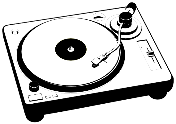 Turntable HD PNG