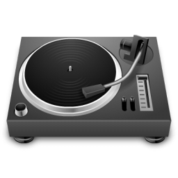 256x256px; 128x128 of Turntable - Turntable HD PNG