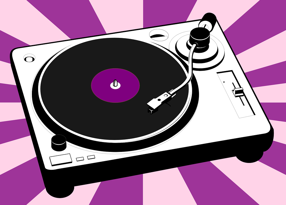 Free vector graphic: Turntable, Vinyl, Music, Record - Free Image on  Pixabay - 310450 - Turntable HD PNG