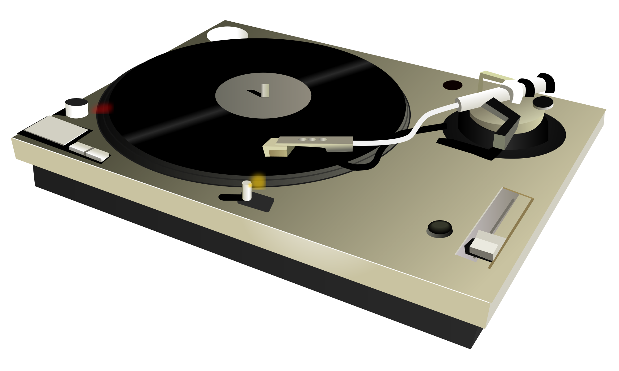 Open PlusPng.com  - Turntable HD PNG