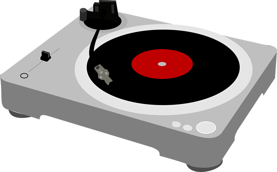 Turntable, Record Player, Music, Deejay, Entertainment - Turntable HD PNG